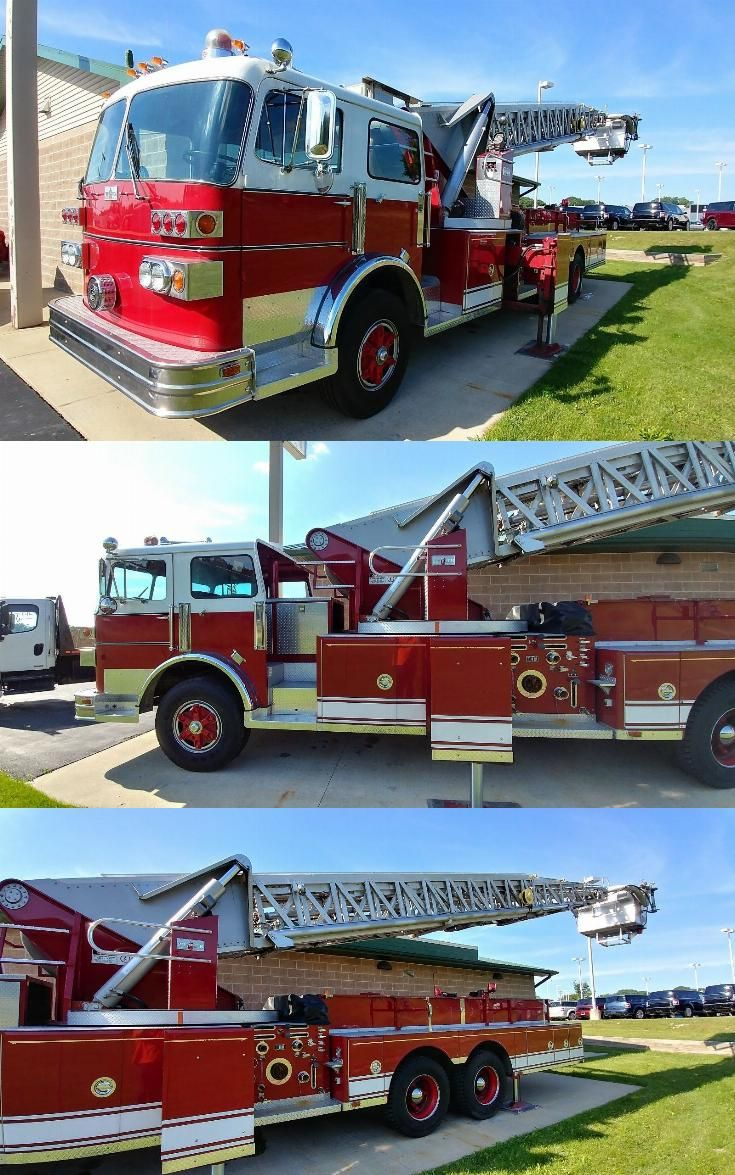 low miles 1980 Sutphen Ladder Fire Truck Fire trucks