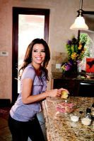 Cooking With Eva Longoria Eva Longoria Honey Glazed Salmon Eva