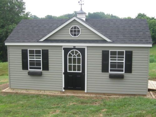 Amish Built 12x20 A Frame Vinyl Storage Shed With Upgraded Dormer Package Vinyl Storage Sheds Shed Storage Shed