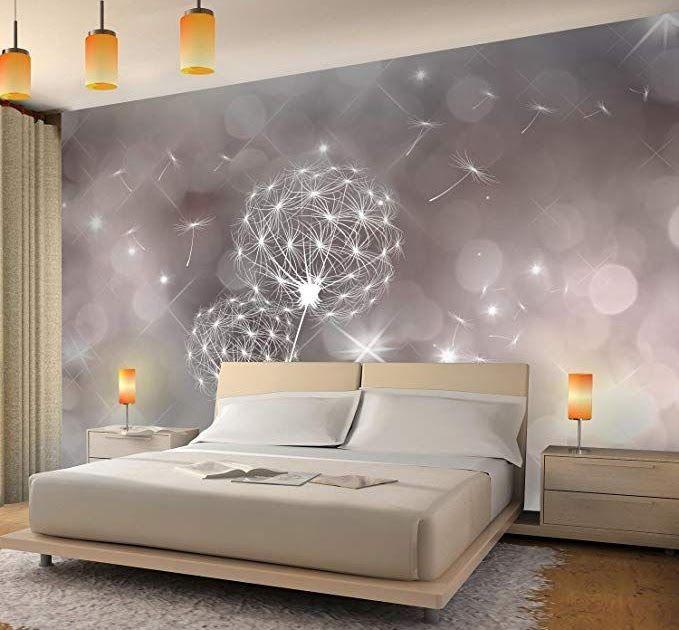 wandbild schlafzimmer xxl in 2020  bedroom bed design