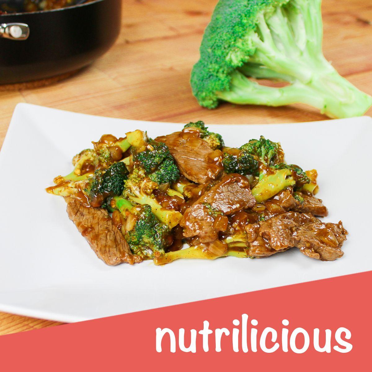 Brokkoli-Pfanne Mit Steak