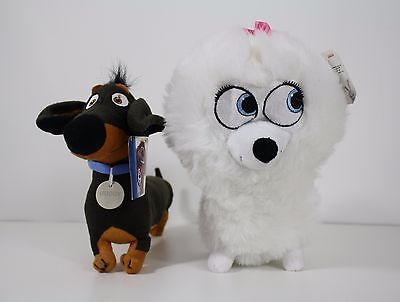 Secret Life Of Pets Gidget Buddy Plush Stuffed Dogs Animal Toys