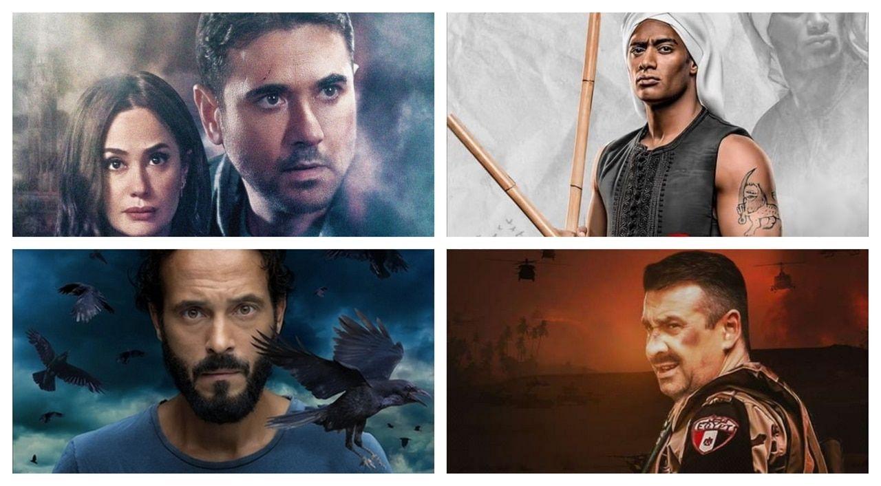القائمة المبدئية لمسلسلات رمضان 2021 In 2021 Movie Posters Painting Poster