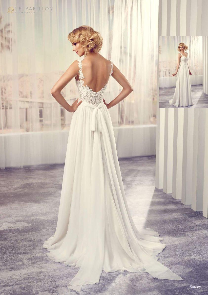 Stacey by Modeca  Braut, Atemberaubende hochzeitskleider, Kleider
