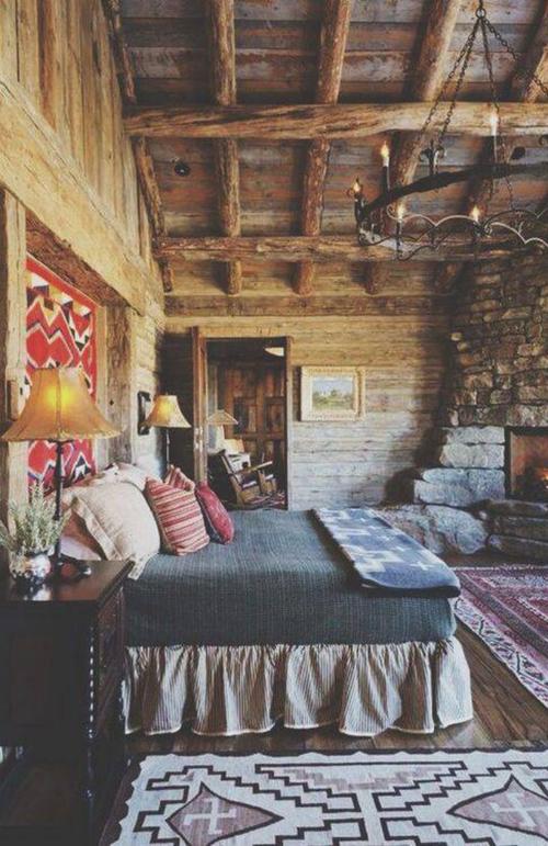 50 Rustic Bedroom Decorating Ideas Home Rustic Bedroom Decor House