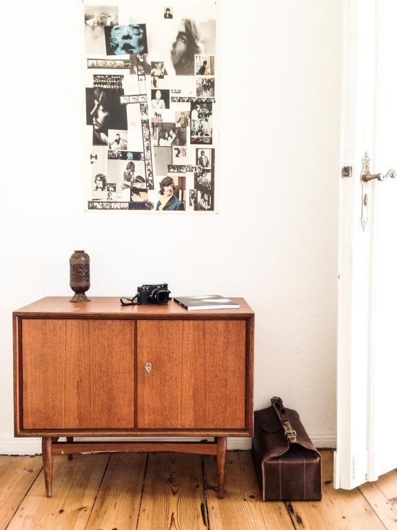 Schöne Details fürs WG-Zimmer. Kommode und Kollage. #Einrichtung ...