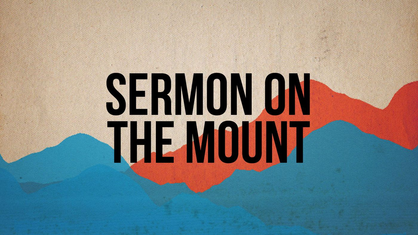 Sermon On The Mount Serie Church Media Design Graphic Introduction Of