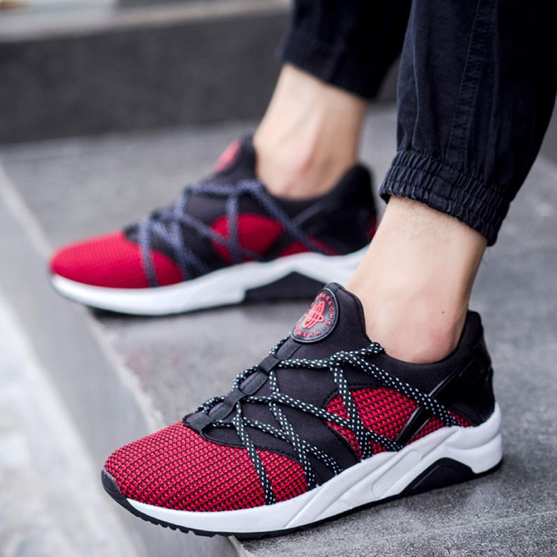 Fashion Men's Casual Breathable Slip On Sport Running Driving Golf New  ShoesRED #Unbranded #FashionSneakers. Men Shoes ...