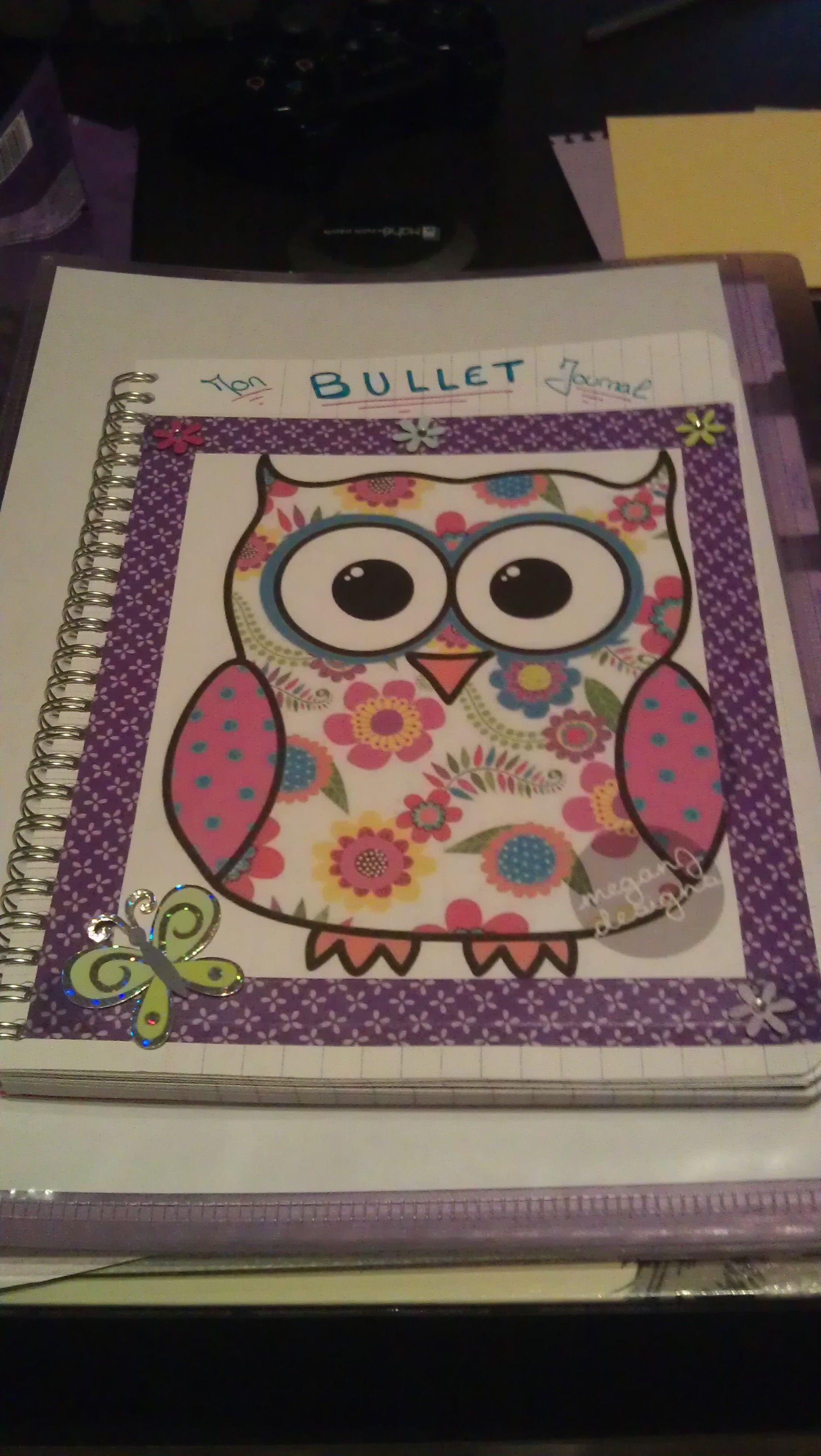 Mon 1er Bullet Journal