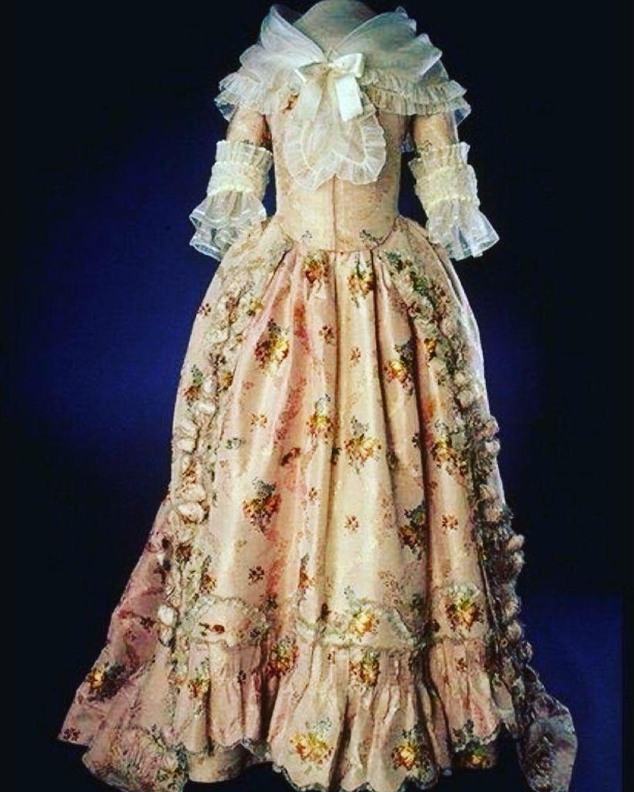 Martha Washington \'s Inauguration Gown, April 30, 1789. | First ...