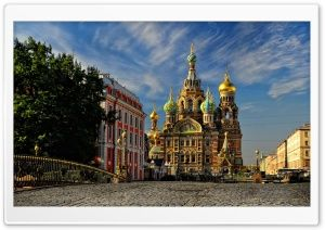 Russian Church Hd Wide Wallpaper For Widescreen Ciudad