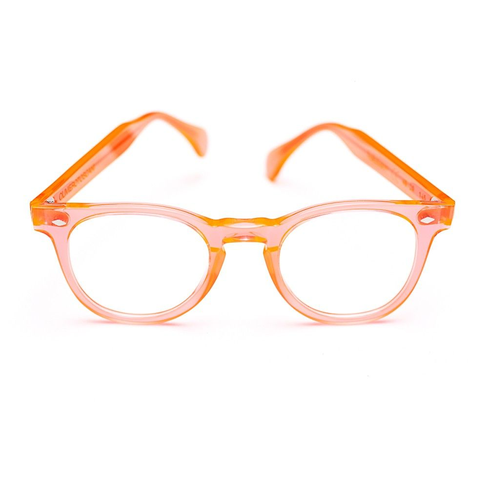 1792cee814 TOSCANI LARGE Fluo Orange Acetate Frame LIMITED EDITION | Lentes ...
