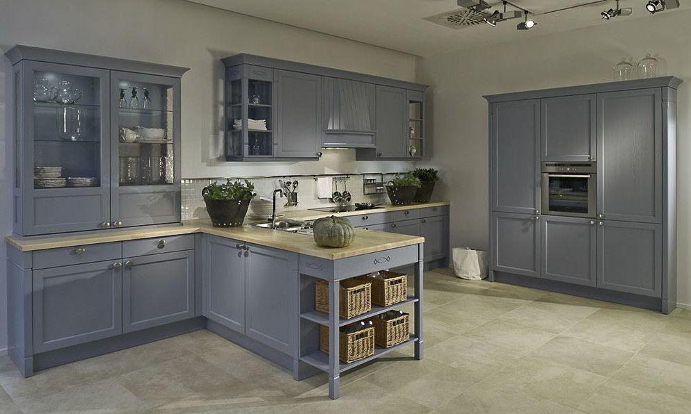 Exceptional Duck Egg Blue Shaker Kitchen Style