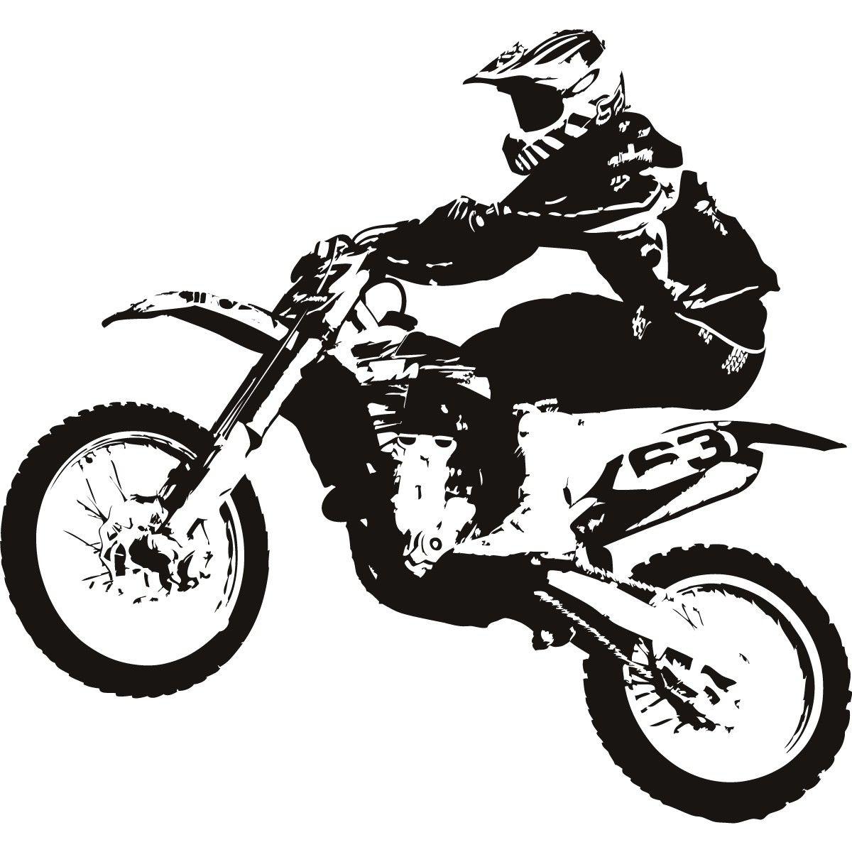 dirt bike clipart black and w kids decor ideas pinterest dirt rh pinterest com dirt bike helmet clipart dirt bike clipart free