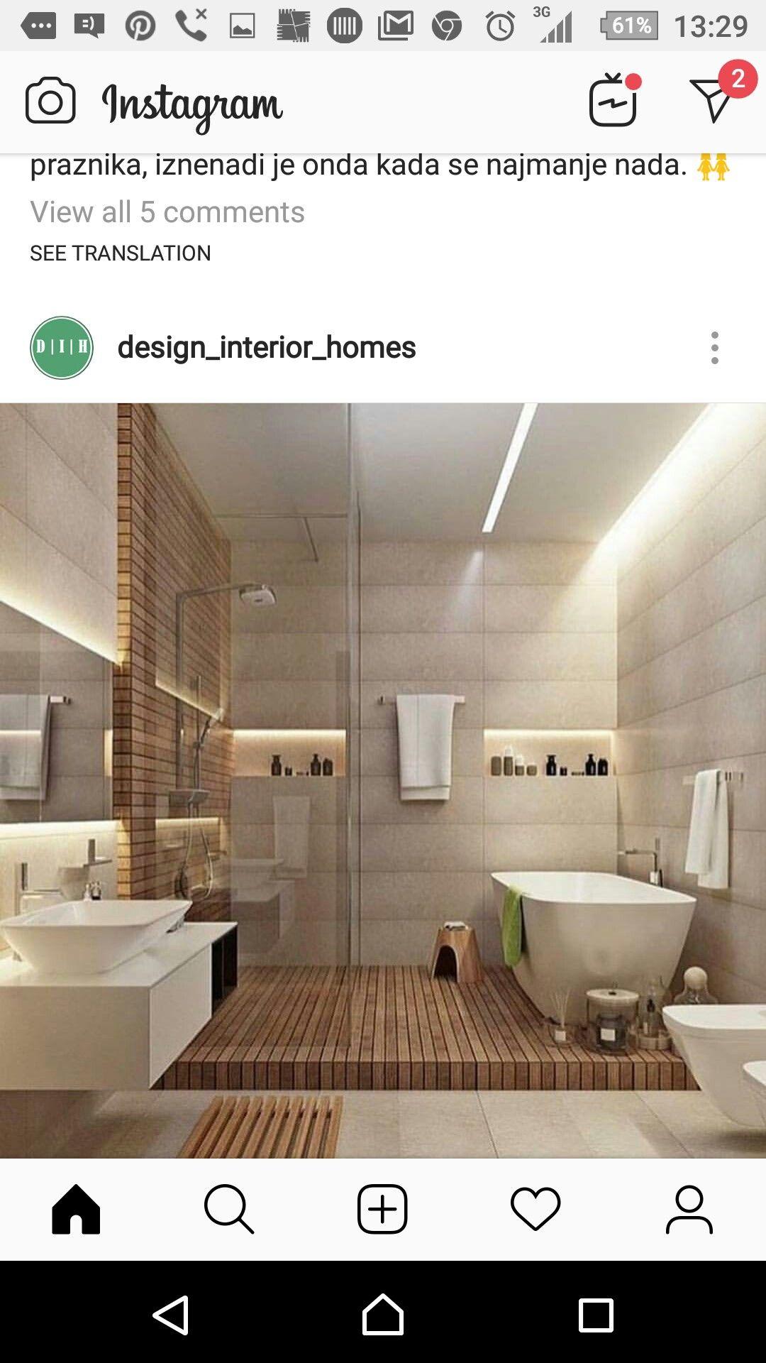Pin By Iustitia Hathor On Kupatilo Ideje Bathroom Design Small Bathroom Design Bathroom Interior Design
