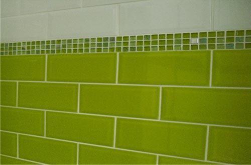Lime Green Kitchen Tiles Lime Green Kitchen Green Kitchen Kitchen Tiles