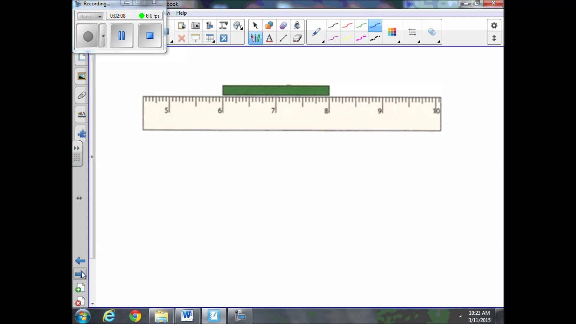 Measuring Using Rulers And Broken Rulers