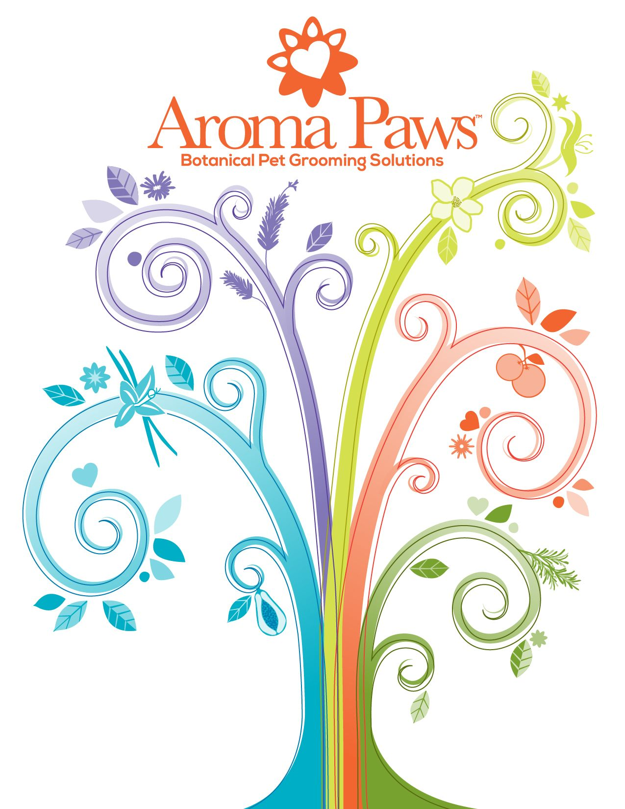 Aroma Paws Catalog Cover Designed By Dan