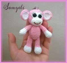 Bebek Anahtarlık Tarifi / Baby Keychain Pattern | Kroşe, Amigurumi ... | 220x236