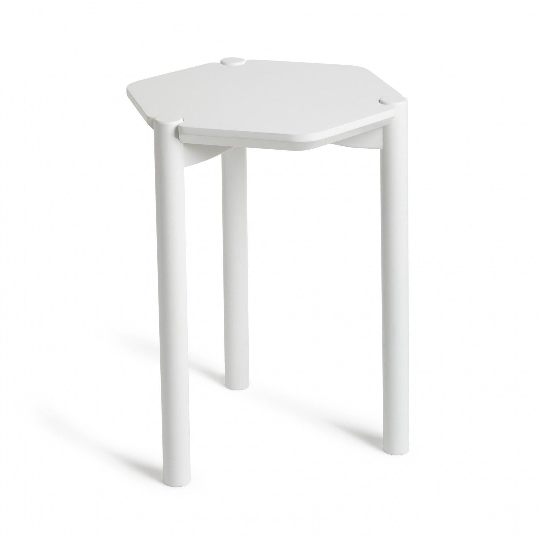 Hexa Side Table White Side Tables Side Table Modern