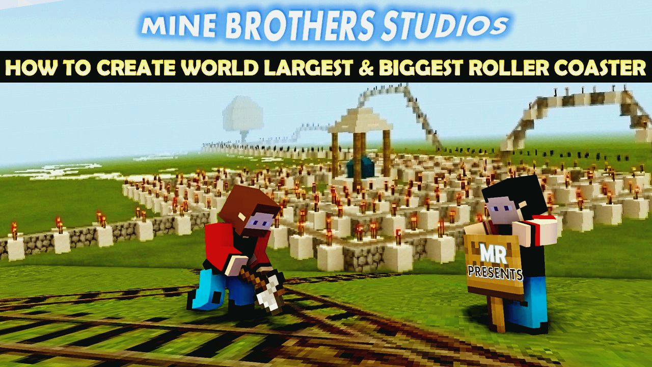 Create World Largest Roller Coaster In Just 14 Minutes In