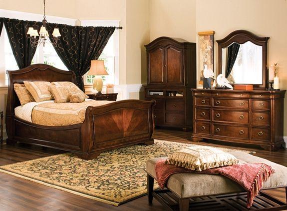 heritage court 4 pc king bedroom set