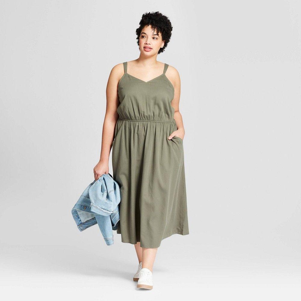 Women S Plus Size Maxi Dress Universal Thread Olive 4x Green In 2021 Plus Size Maxi Dresses Plus Size Maxi Maxi Dress [ 1000 x 1000 Pixel ]
