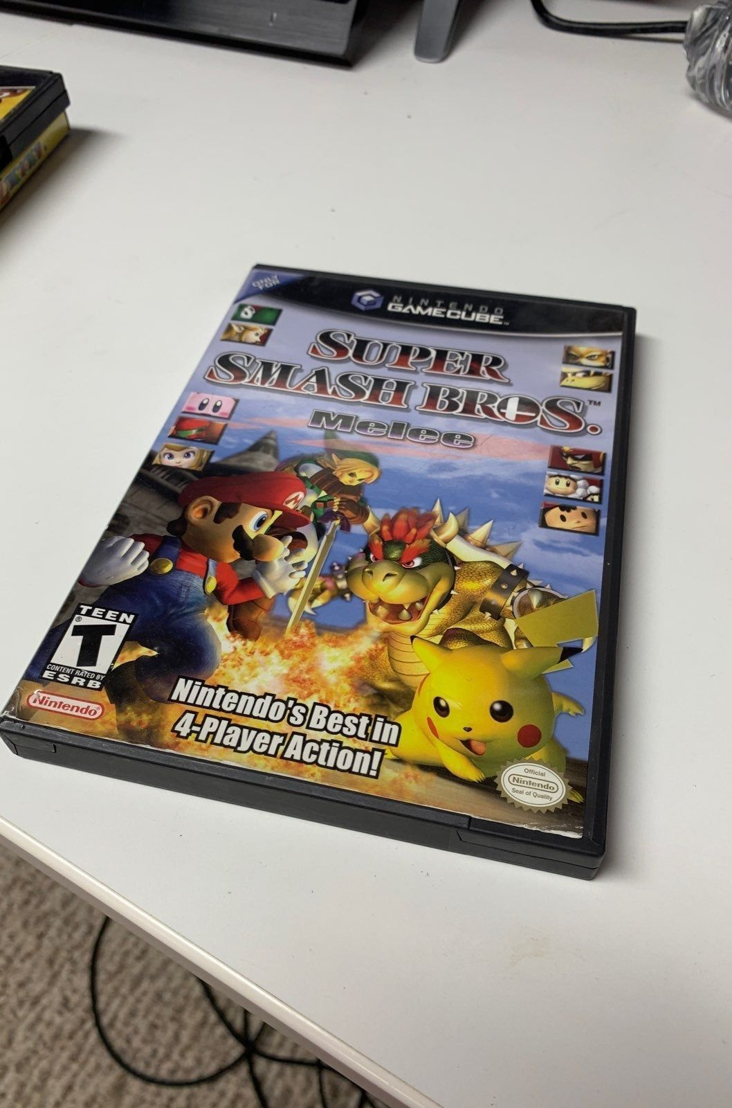 Ssb Melee For Gamecube Highly Used Shipped With Care No Instruction Booklet Included Gamecube Super Smash Bros Melee Nintendo Gamecube Games