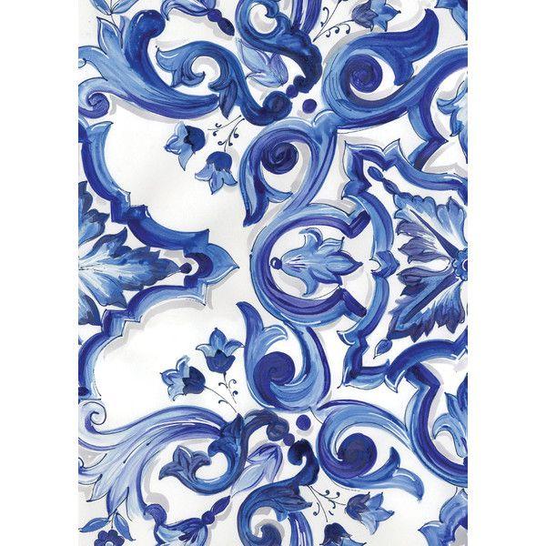 Blue Pattern Earrings, Blue Baroque Earrings, Blue Sicilian Earrings... ($45) ❤ liked on Polyvore featuring jewelry, earrings, earrings jewelry, flower jewellery, blue jewelry, baroque jewelry and renaissance jewelry