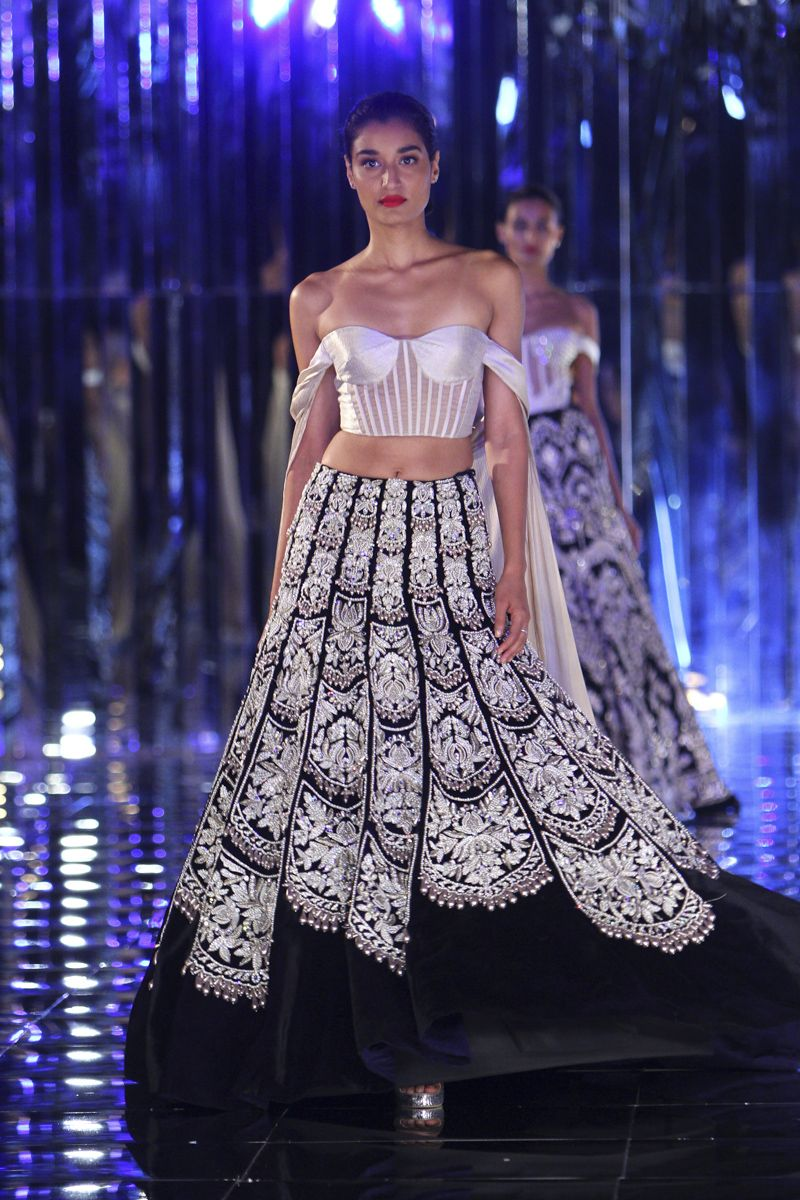 Interesting icw manish malhotra funky indian fashion indian