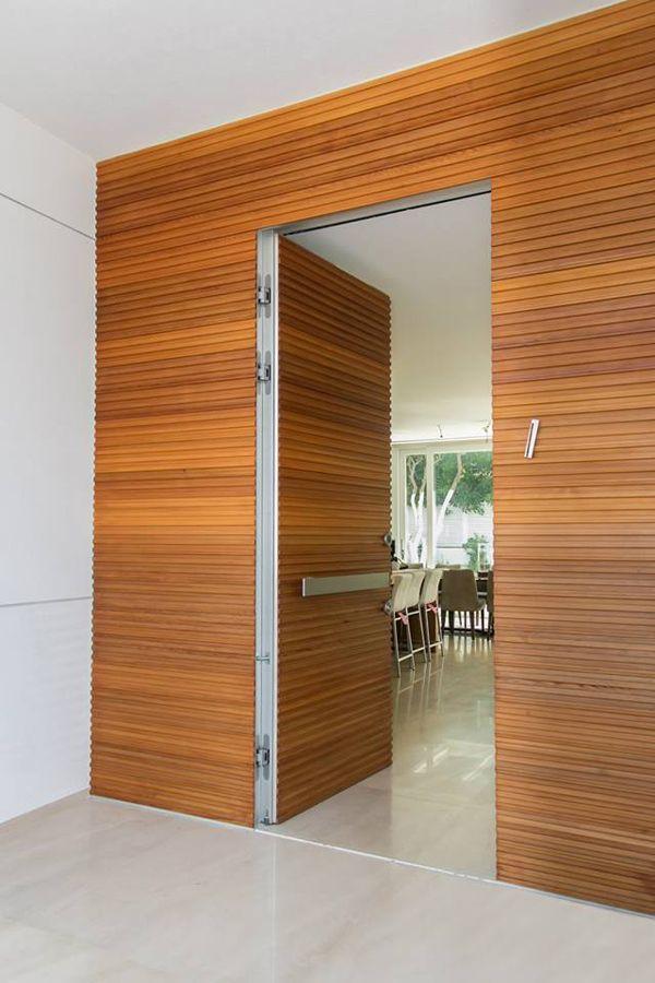 CONCEALED HINGE DOOR
