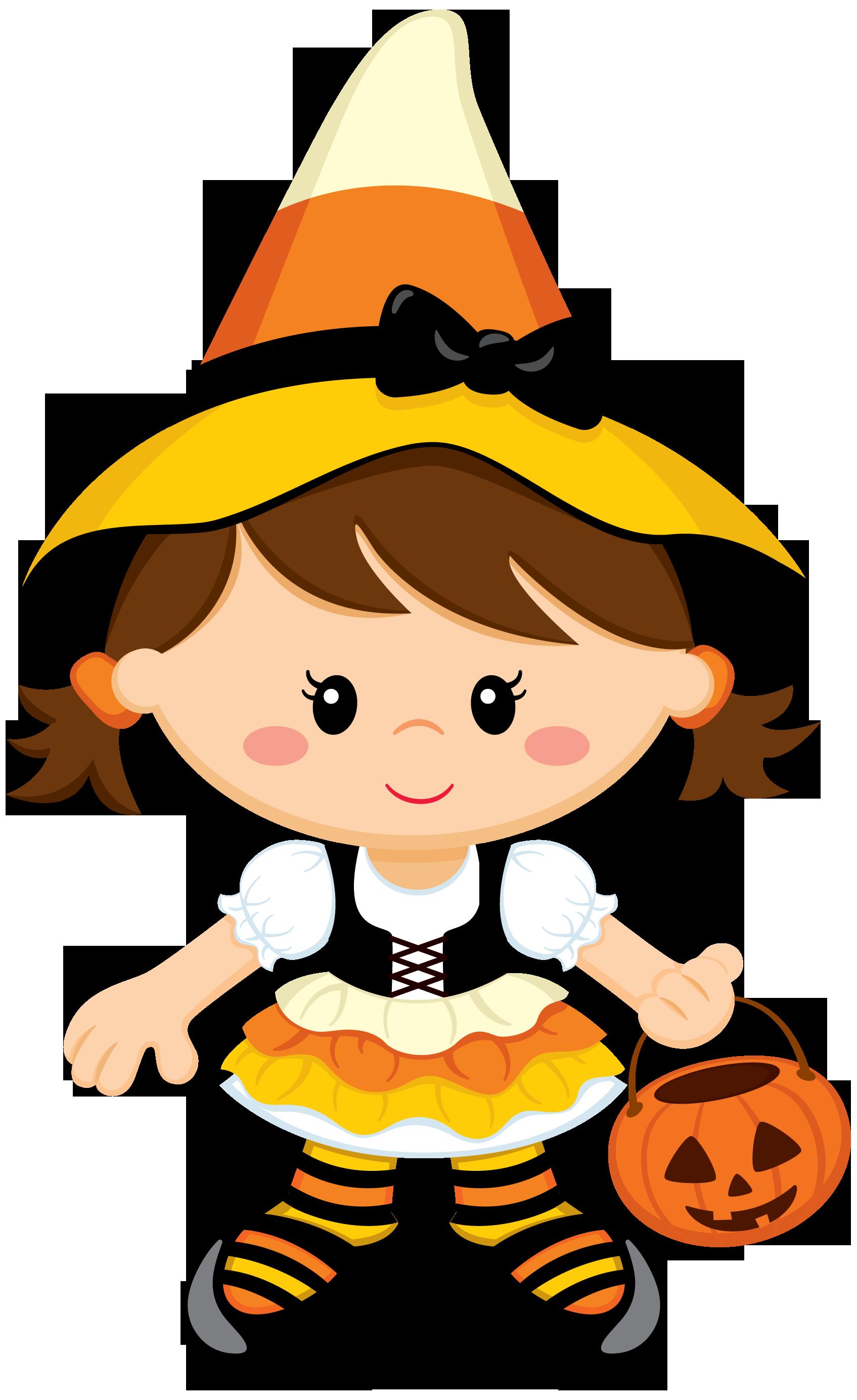Brujita Ilustración de halloween, Dibujos animados de