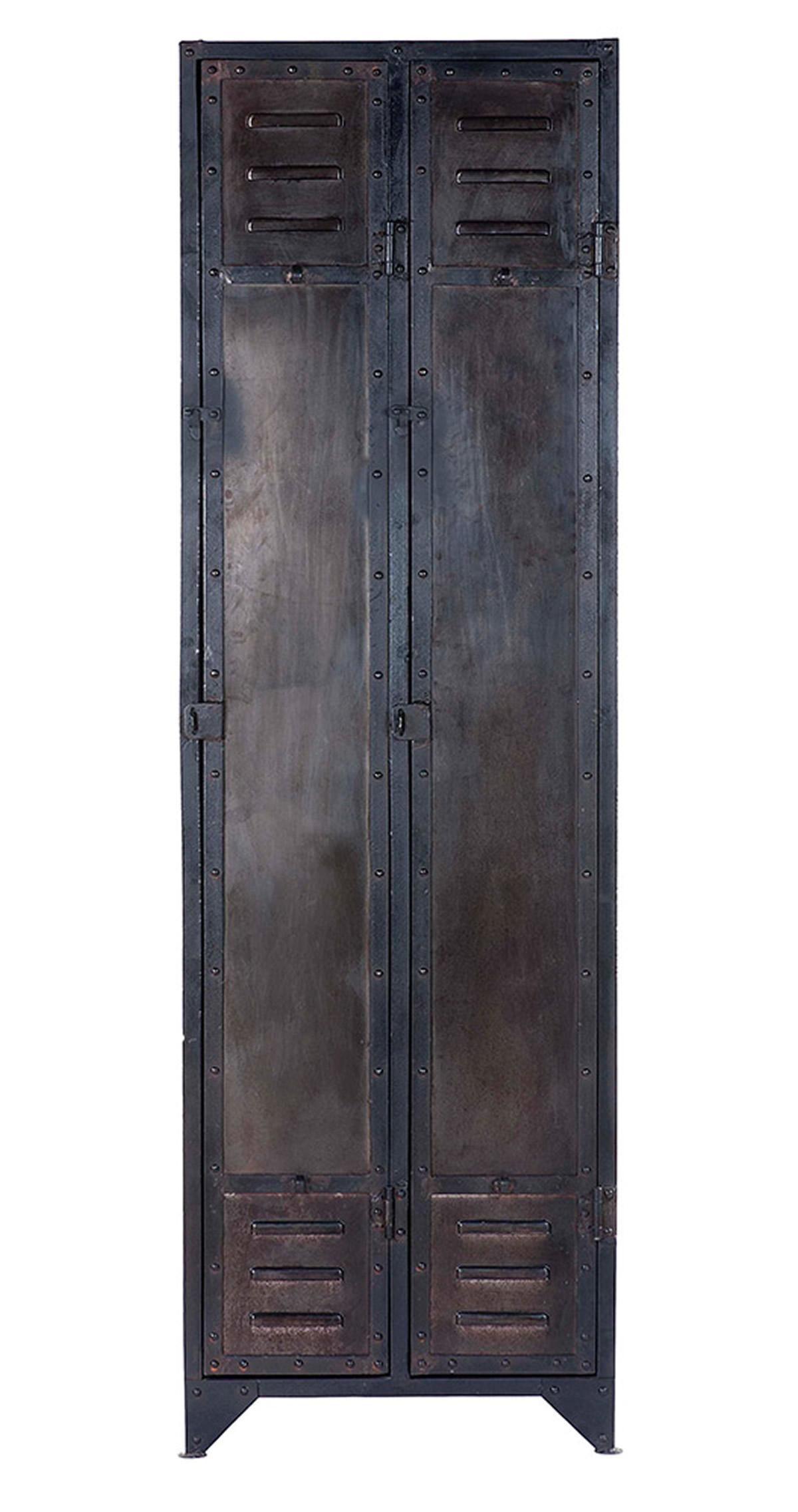 meuble industriel en bois et metal