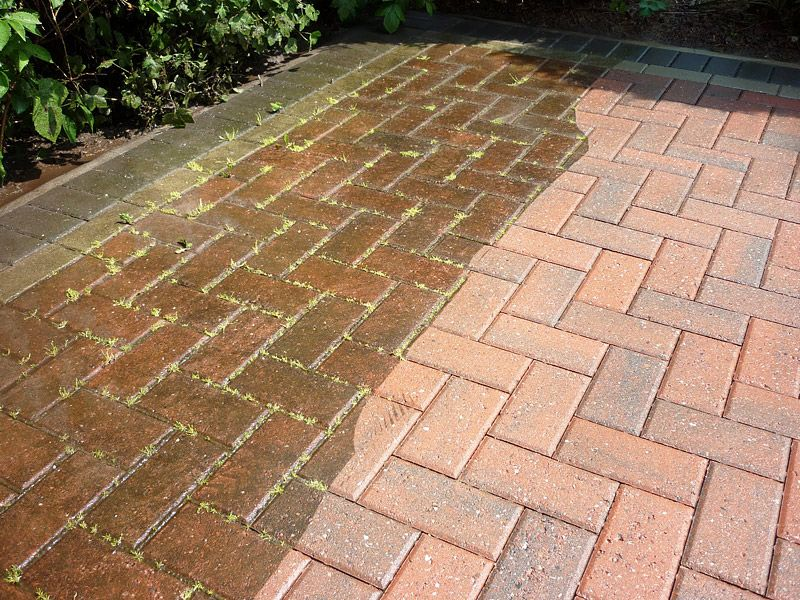 Brick Pavers Cleaning Maintaining And More Quiet Corner Brick Paver Patio Brick Pavers Pavers