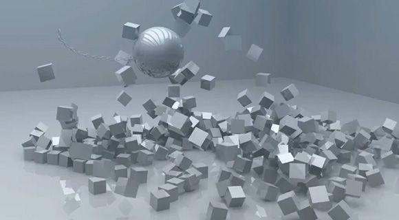 Cinema 4D - Dynamic Chain Tutorial, wrecking ball maclion3d