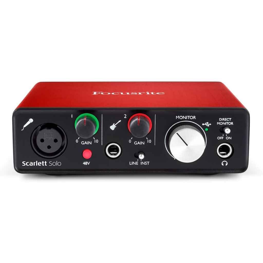 Carte Son Interface Audio 2 Entr Es 2 Sorties La Seconde G N