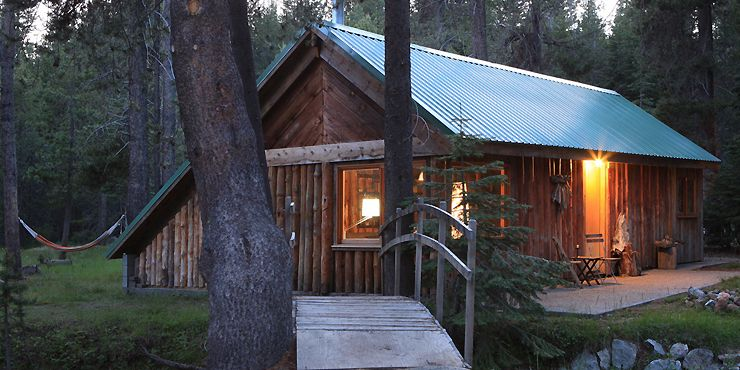 to far red cabin americas rentals the in yosemite door california cabins vacation a united frame meadow rental states wild
