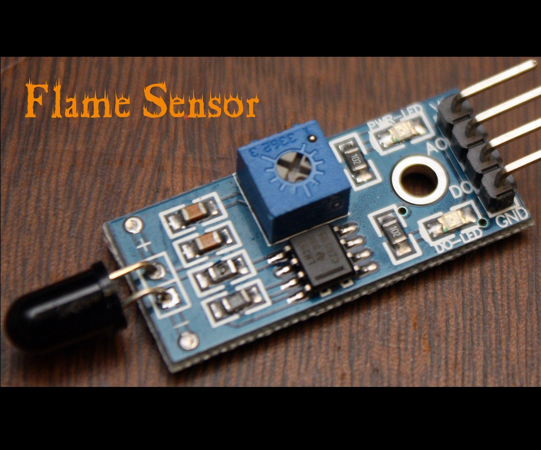 Arduino Modules - Flame Sensor | Arduino | Arduino modules