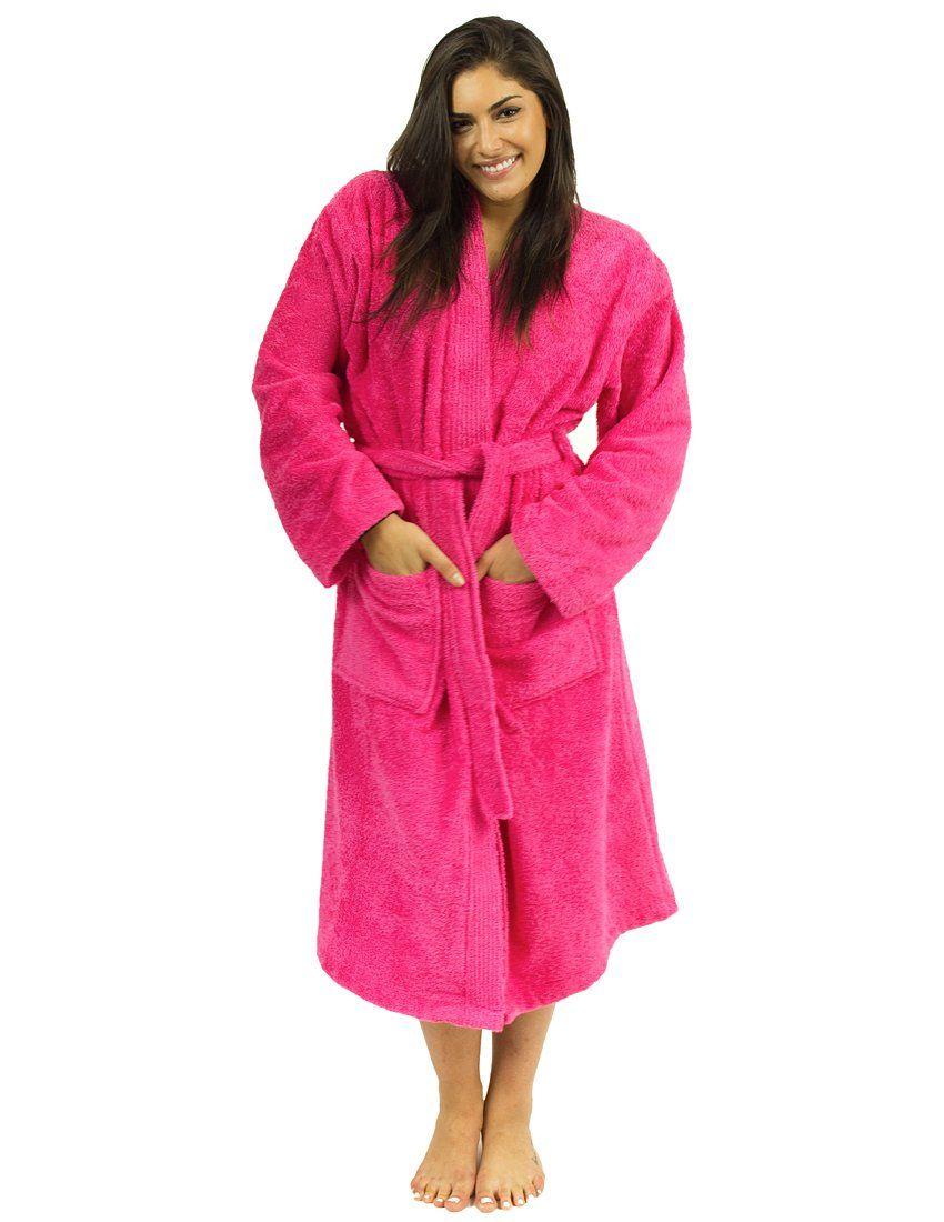 762c94b28a TowelSelections Turkish Terry Kimono Bathrobe - 100% Egyptian Cotton ...