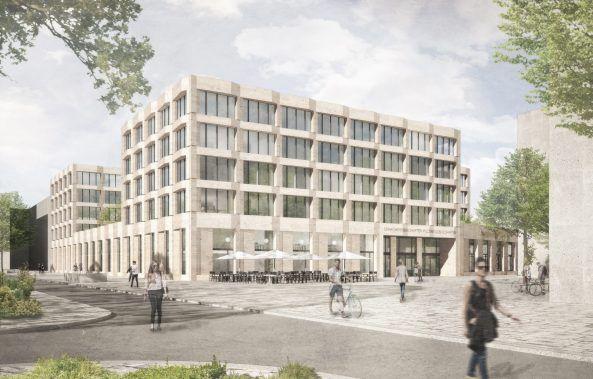 K2 Architekten wettbewerb goethe universität frankfurt am cus westend