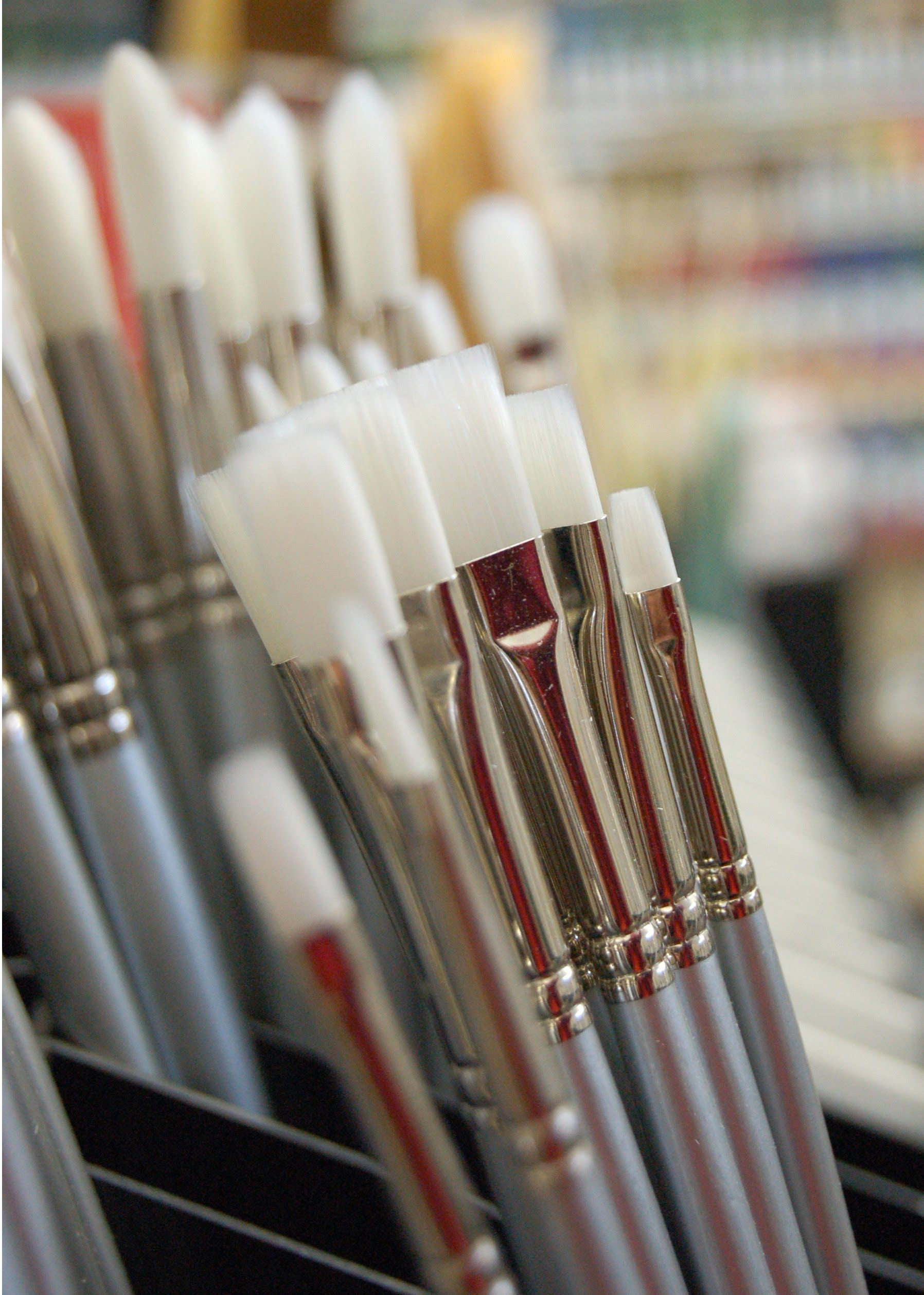 Acrylic painting tip 13 choosing the best brushes for