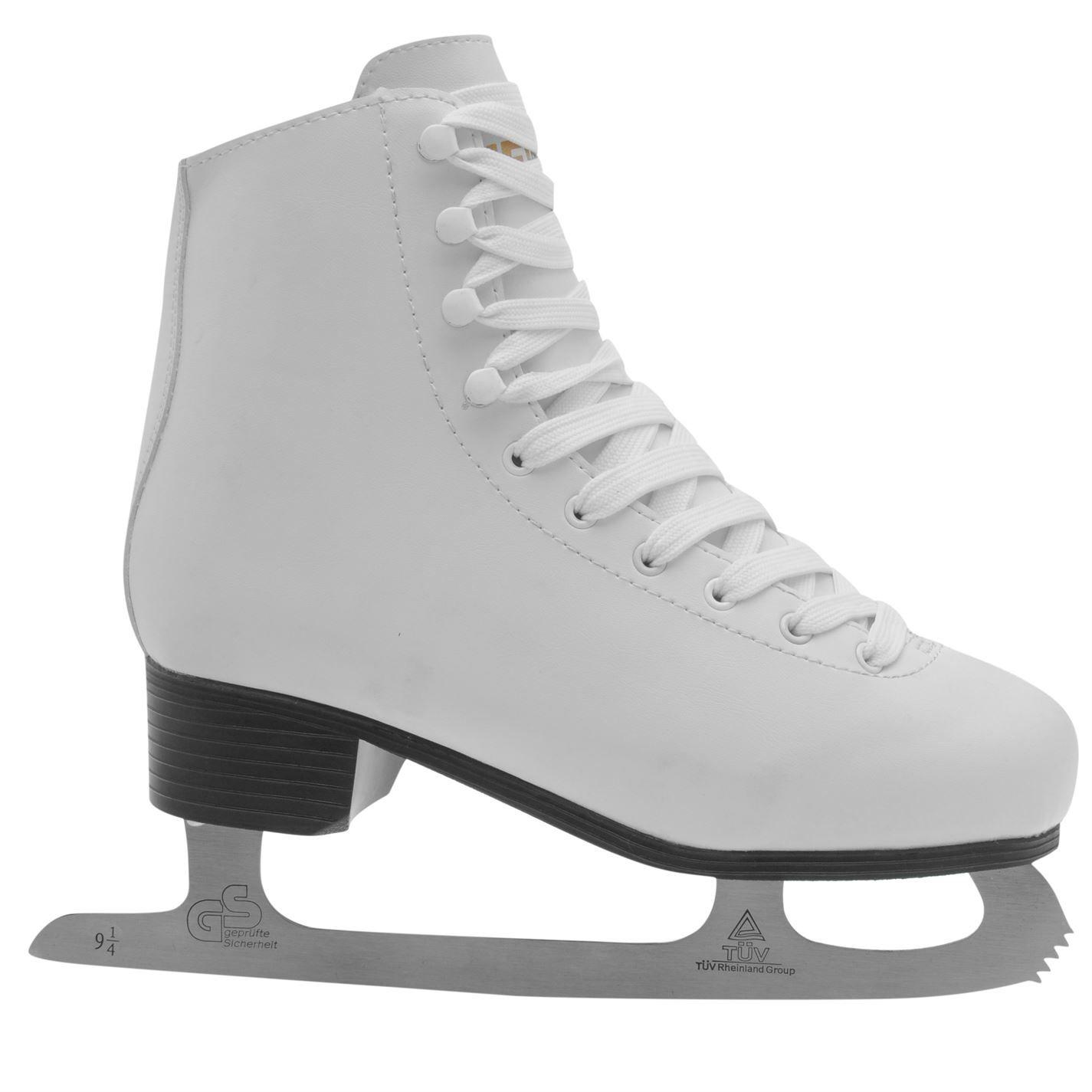 Figure Ladies Ice Skate Womens Figure Skates Shoe Boots Classic Lace