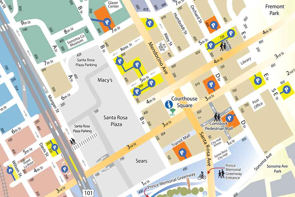 Downtown Parking Locations