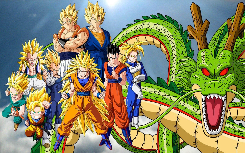 Dragon Ball Z All Super Saiyan Walpaper Dragon Ball Wallpapers