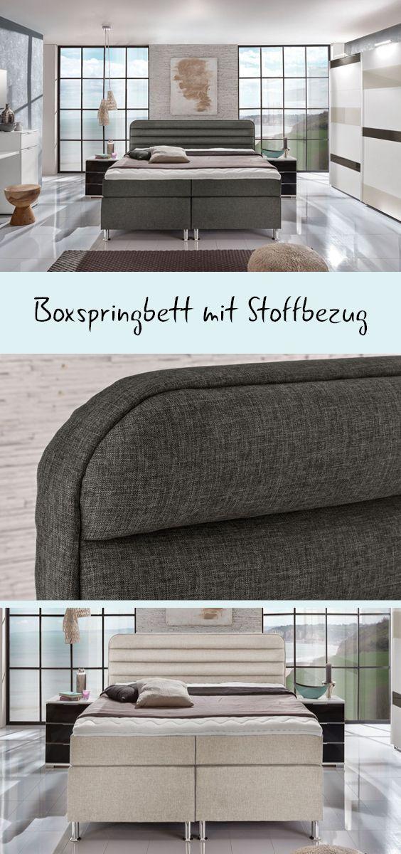 """Boxspringbett """"Lurato"""" Boxspringbett, Bett und"""
