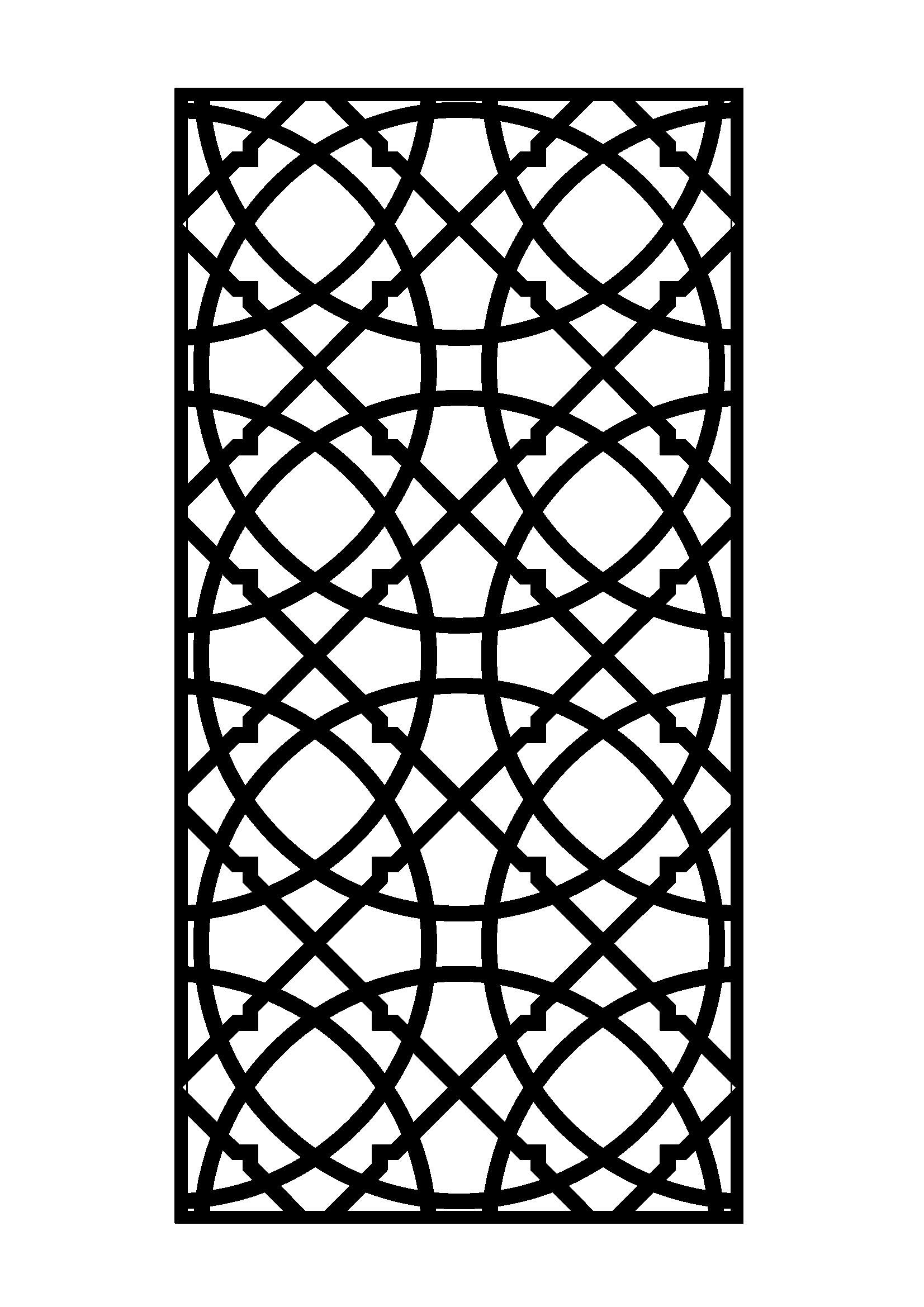 Dessin Marocain Pochoir Laser Cut Door 6mm Steel Laser Cutting Pinterest