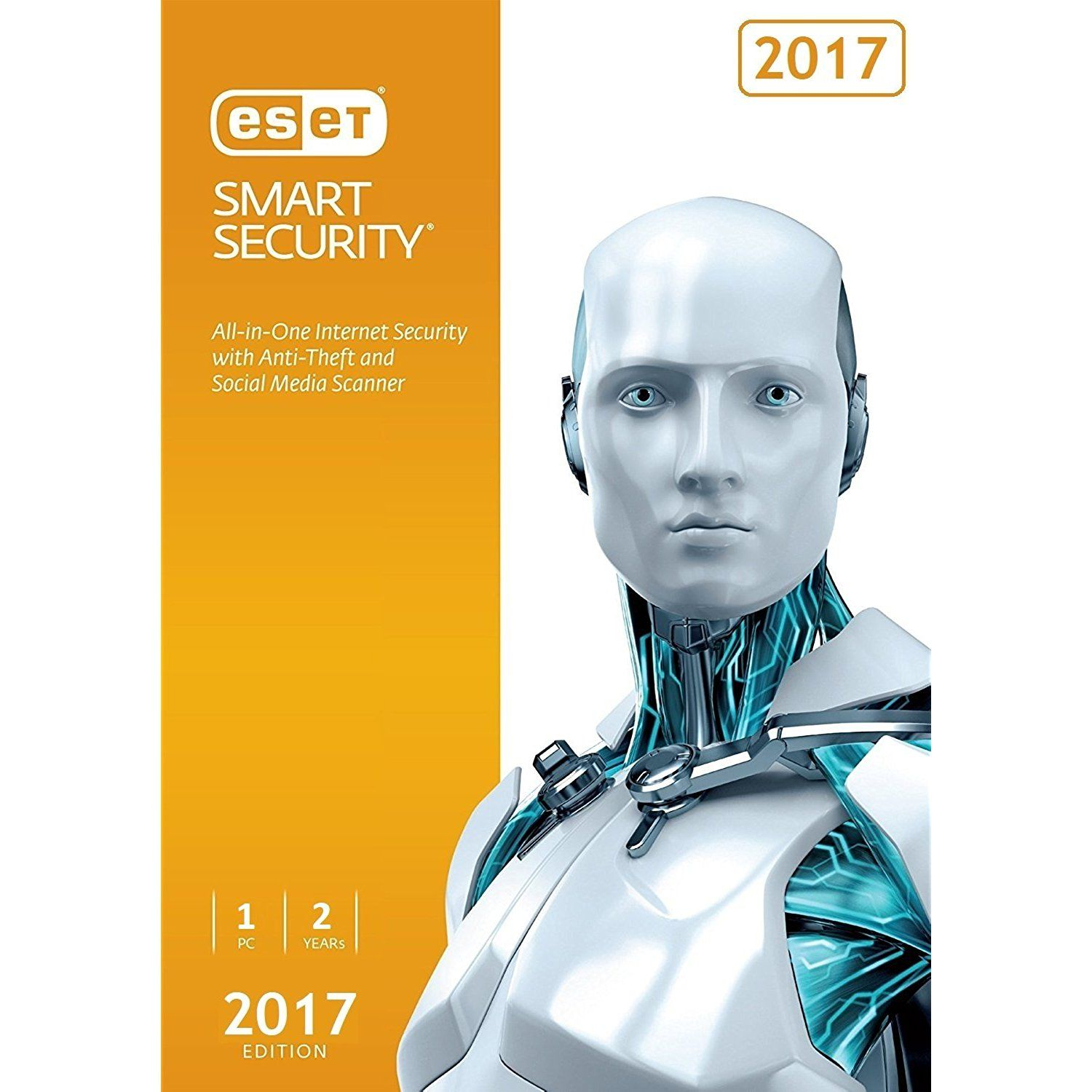 Eset Smart Security 2017 1 Pc 2 Years Subscription