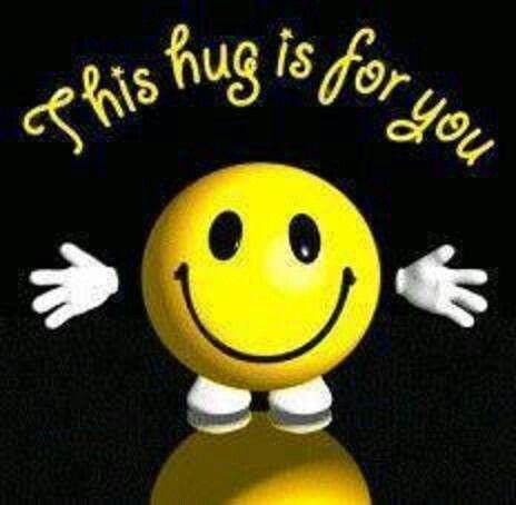 A big hug from me to you | Birthday Greetings | Hug emoticon
