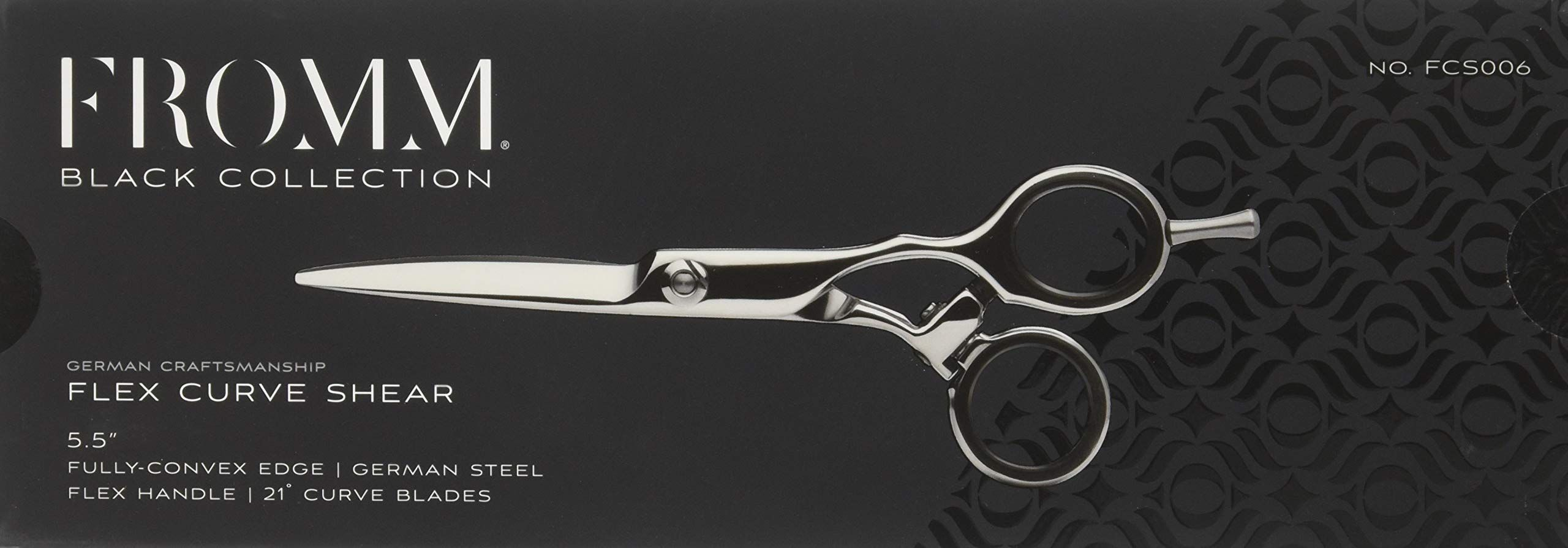 Fromm Flex Curve Shear 5.5 Black Collection >>> Click on