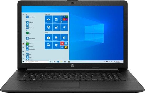 Best Buy Hp 17 3 Laptop Amd Ryzen 7 16gb Memory Amd Radeon Rx Vega 10 1tb Hdd Jet Black 17 Ca1031dx In 2020 Touch Screen Laptop Cool Things To Buy Hp 17